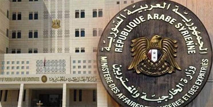 محدودیت فعالیت های وزارت خارجه سوریه با هدف مقابله با کرونا