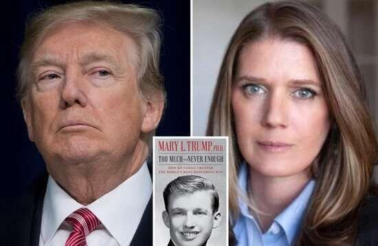 خبرنگاران شکست خانواده ترامپ برای توقف انتشار کتاب خطرناک ترین مرد جهان