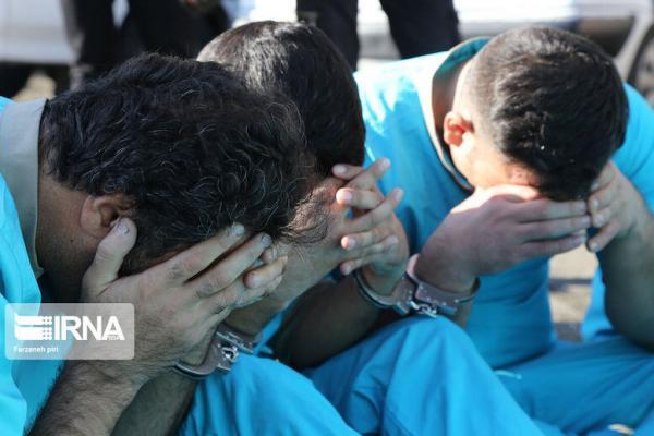 خبرنگاران دستگیری سه نفر از اراذل و اوباش در ایذه